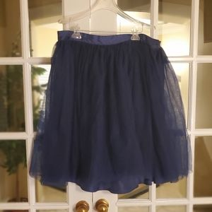 Eloquii Skirts - Navy blue tulle skirt NWOT